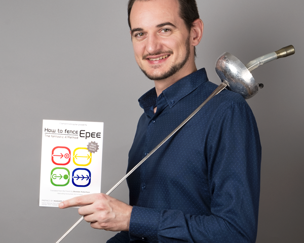 """Clement Schrepfer, author of """"How to Fence Epee - The Fantastic 4 Method"""""""